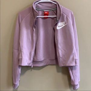 Nike Cropped Zip Up